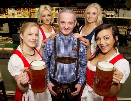 Galway beer tent